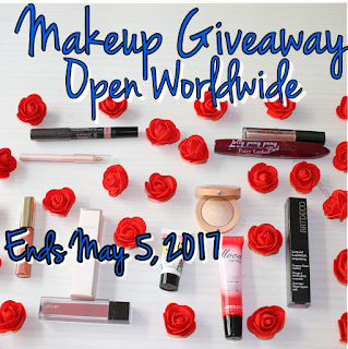 Birthday Makeup Giveaway Results