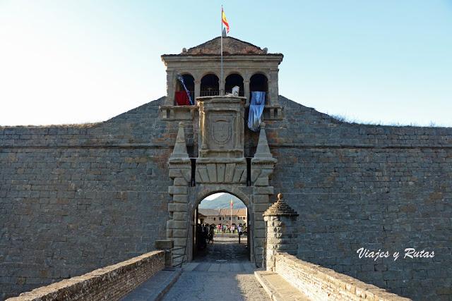 Puerta de la Ciudadela de Jaca