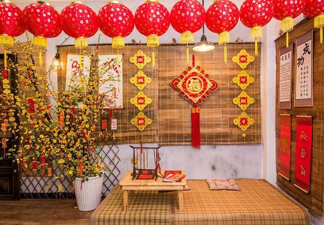 thuê trang trí Tết 2021 tại Hà Nội