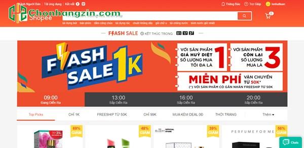 kimnh nghiệm mua hàng Flash Sale Shopee