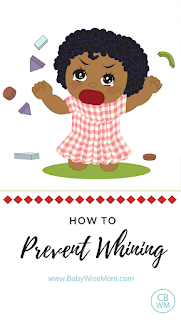 How to prevent whining