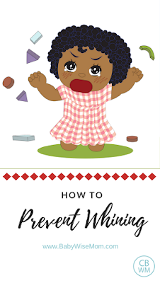 How to Prevent Whining | discipline | whining | #whining