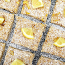 Raw lemon bars