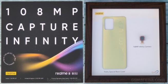 Realme 8 series 108MP Camera