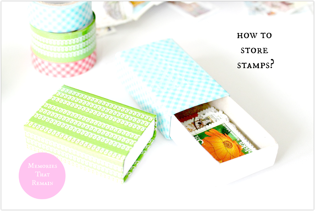 stamps diy project