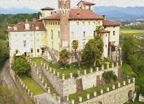 The Castello di Castellengo is in the province of Biella