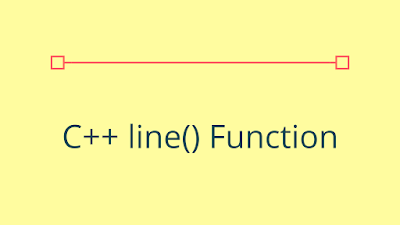 C++ line() - Draw a Line on the Screen
