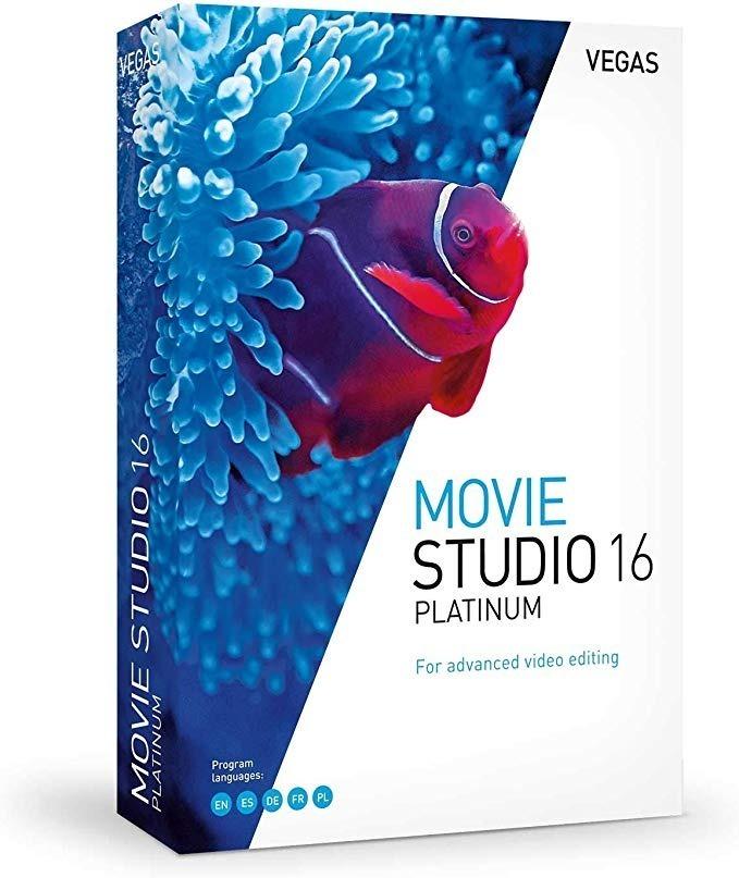 VEGAS Movie Studio Platinum 16 Crack e Serial Download Grátis