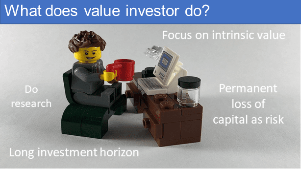 What do value investors do?