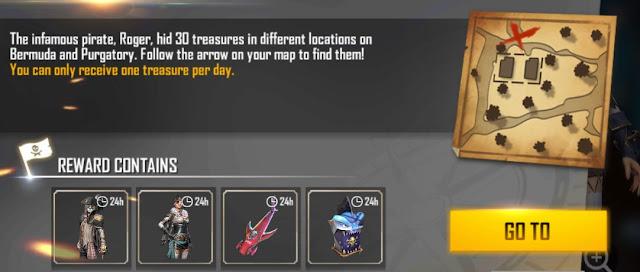 Lokasi Peta Harta Hari ke 22 Map Purgatory