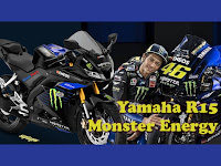 Yamaha R15 2019 Monster Energy