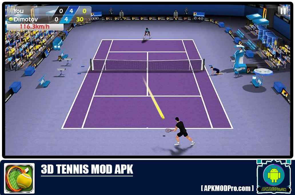 Download 3D Tennis Mod Apk