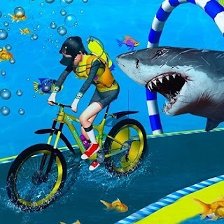 Underwater Bicycle Racing