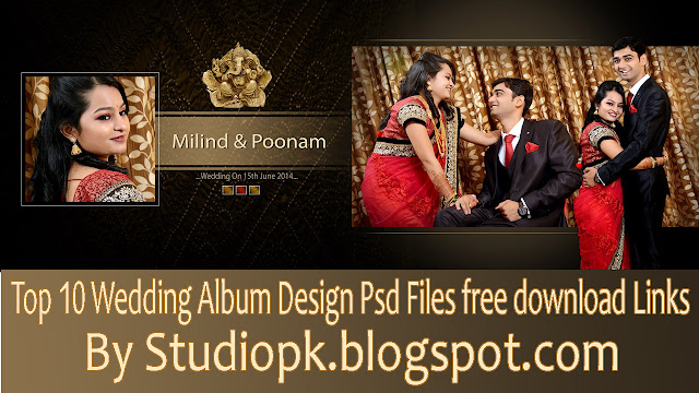 Top 10 Wedding Album Design Psd