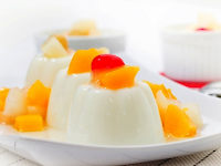 How to Make Sweetened Condensed Milk Pudding Favors