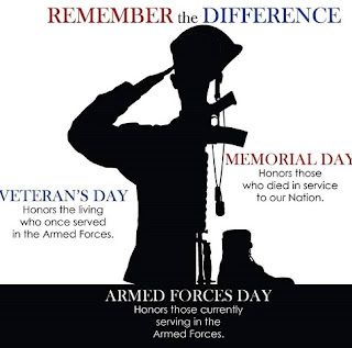 veterans and memoriazl day