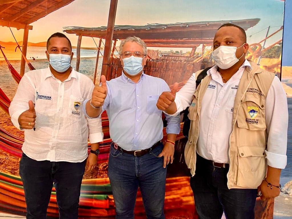 hoyennoticia.com, Iván Duque resaltó el trabajo del alcalde de Riohacha José Bermudez Cotes