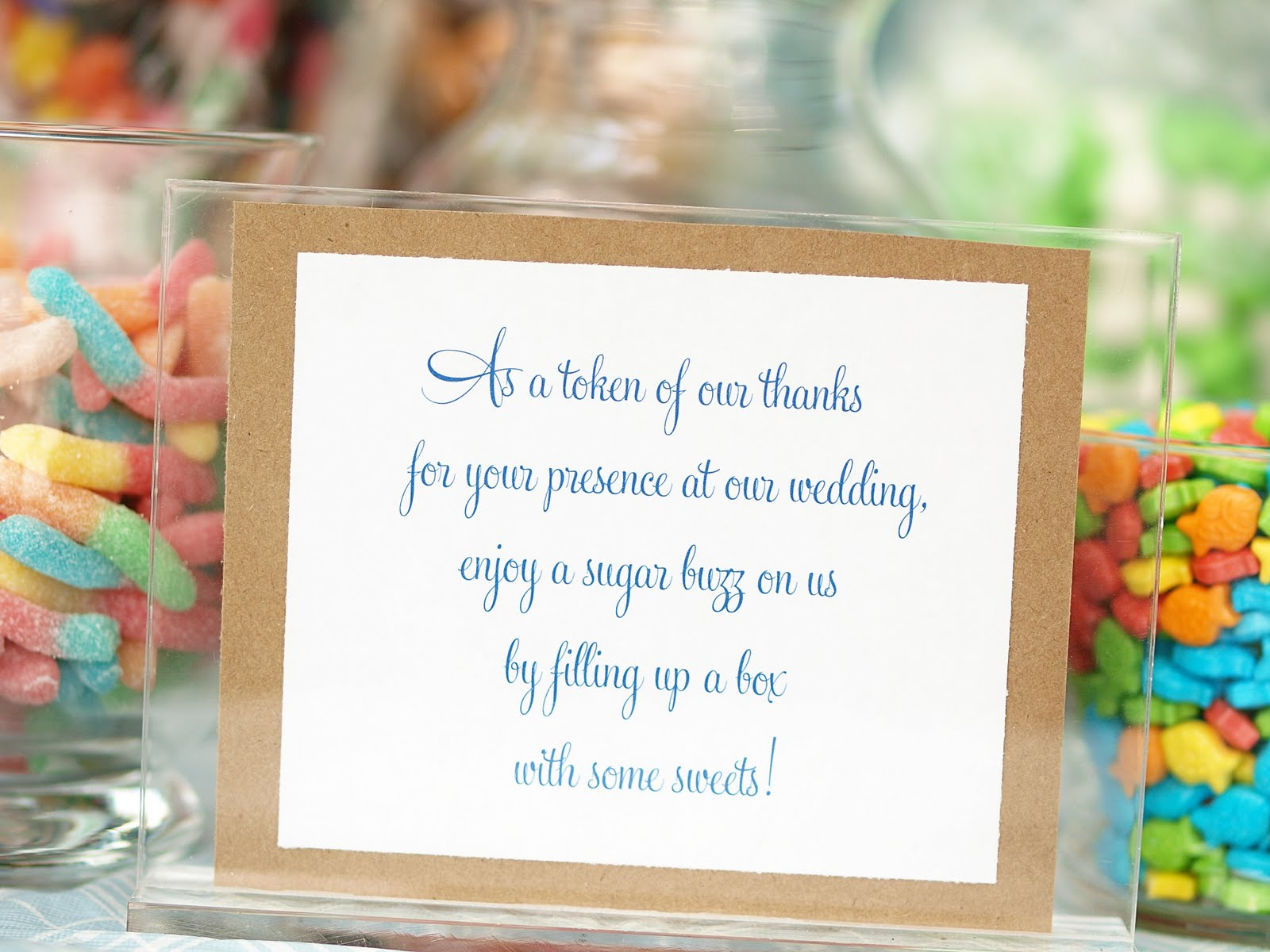 Wedding Candy Bar Quotes Quotesgram