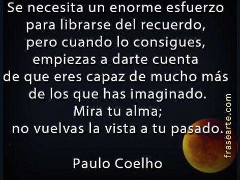 Liberarse de los recuerdos – Paulo Coelho