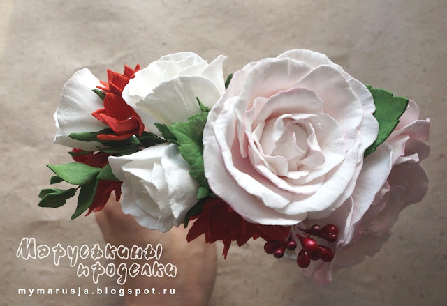 цветочные ободки