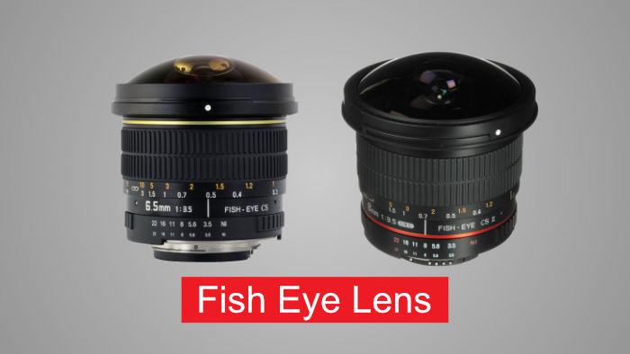 Types of Lens for DSLR Camera