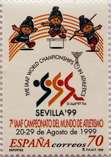 7º CAMPEONATO MUNDIAL DE ATLETISMO. SEVILLA 99