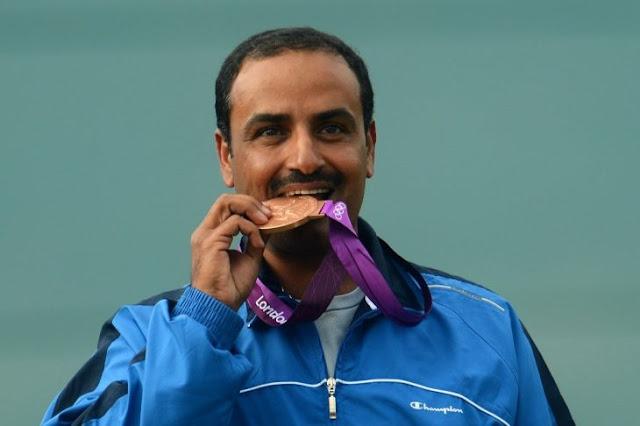 El militar que ha ganado el oro como atleta independiente