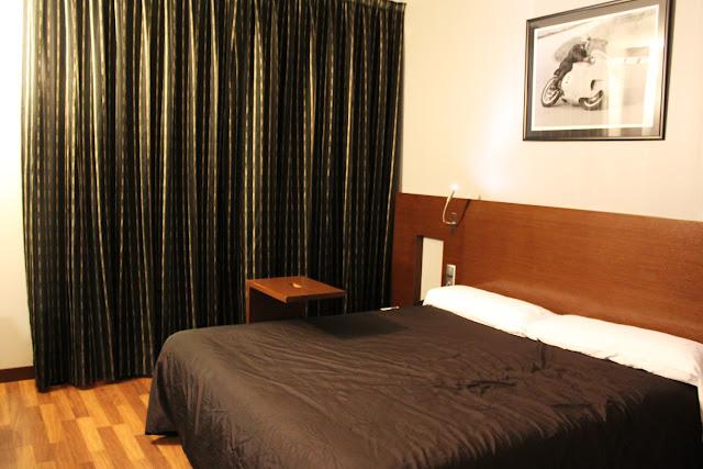 Habitación doble estándar del Täch Hotel Madrid Airport