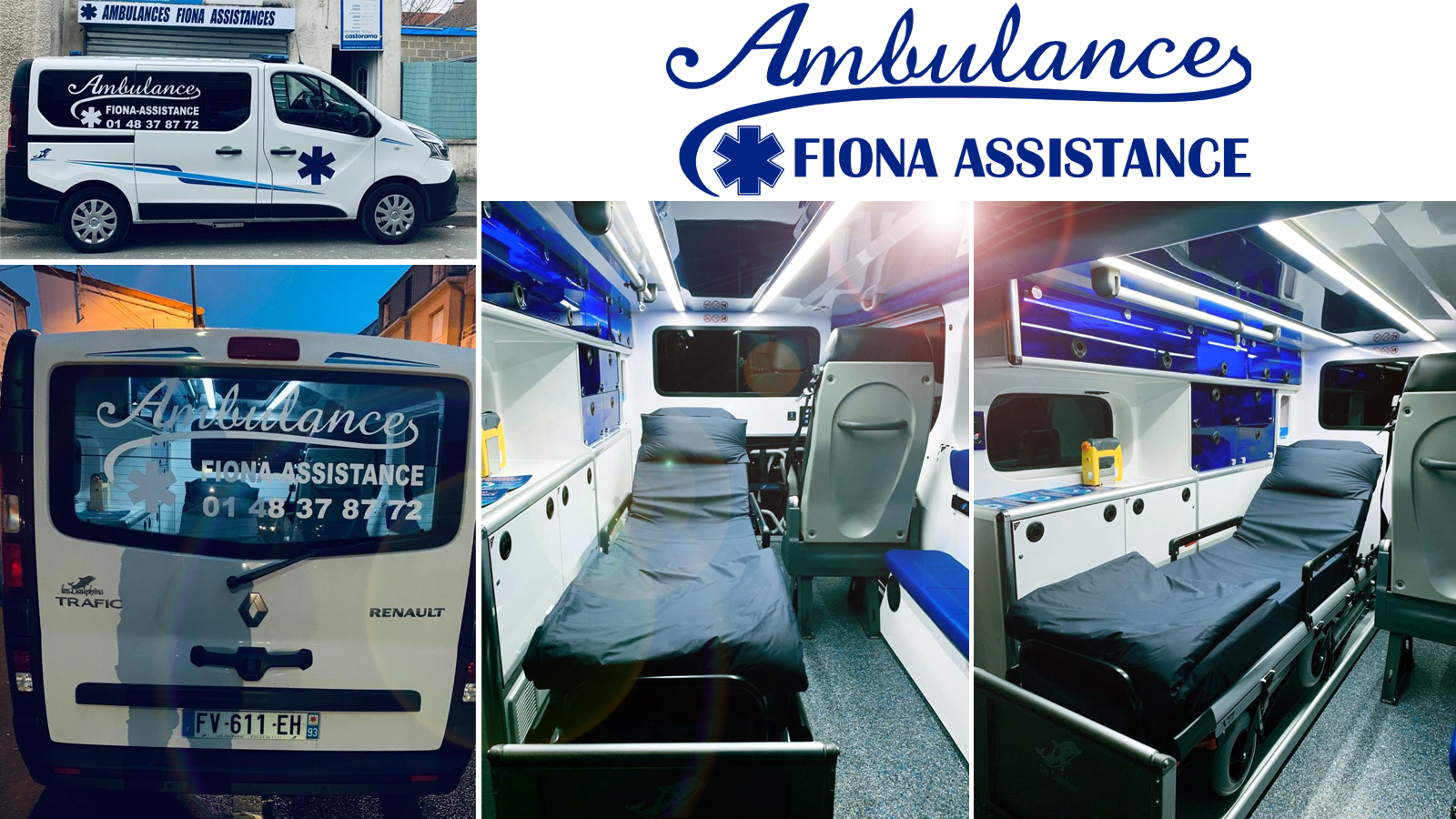 AMBULANCE SEINE-SAINT-DENIS 93 Ambulances FIONA ASSISTANCE