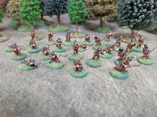 15mm Romanian riflemen