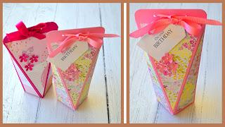 Candy box paper craft.