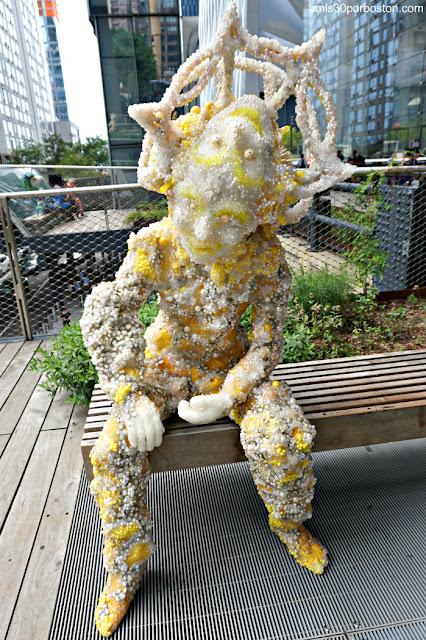 """Obras de Raúl de Nieves parte de """"The Musical Brain"""" en la High Line de Nueva York"""