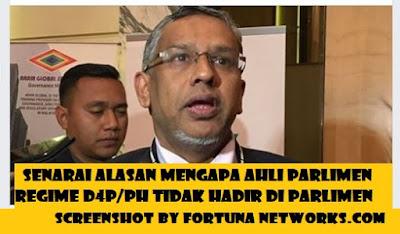 "<img src=""fortunanetworks.com.jpg"" alt=""Senarai Alasan Mengapa Ahli Parlimen Regime D4P/PH Tidak Hadir Di Parlimen"">"