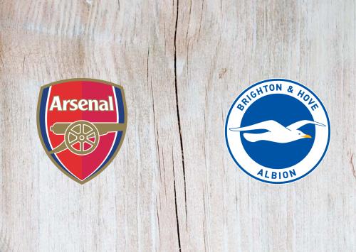 Arsenal vs Brighton & Hove Albion -Highlights 23 May 2021