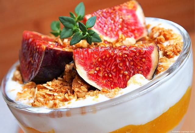 granola z figą