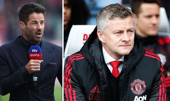 EPL: Jamie Redknapp questions Ole Gunnar Solskjaer's credentials to manage Manchester United