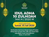 (Breaking News) Hari Raya Idul Adha 10 Zulhijah 1441 H Pada .......