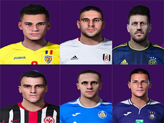 PES 2020 Faces First Pack 2020 by Rednik