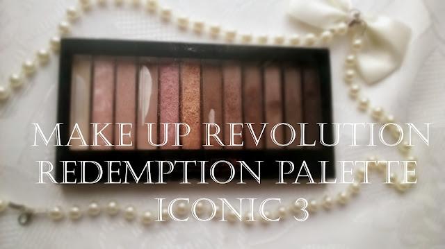Makeup Revolution Iconic 3 paleta cieni
