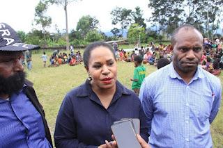 Pansus Kemanusiaan DPR Papua kunjungi pengungsi Nduga di Jayawijaya