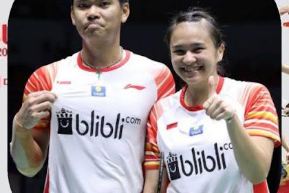 Praveen jordan/Melati Daeva Oktavianti kalah di babak Indonesia Masters 2020, begini komentar mereka