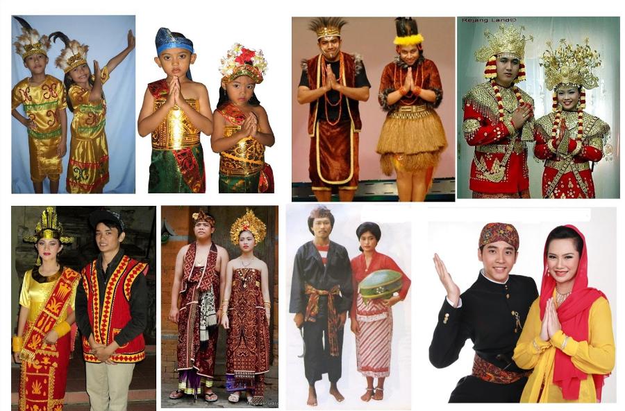 34 Pakaian Adat Indonesia Dari Seluruh Provinsi Lengkap dan Gambar