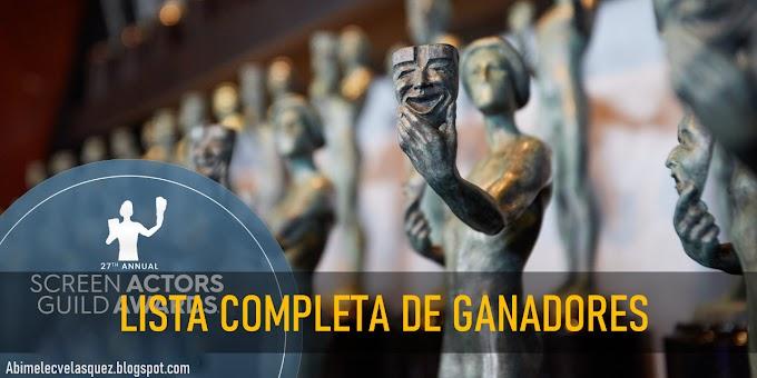 LISTA COMPLETA DE GANADORES DE LOS SAG AWARDS 2021
