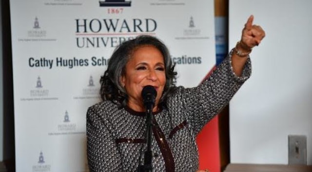 Image result for cathy hughes howard university school of communications urbanradionation
