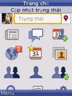Tải facebook cho LG
