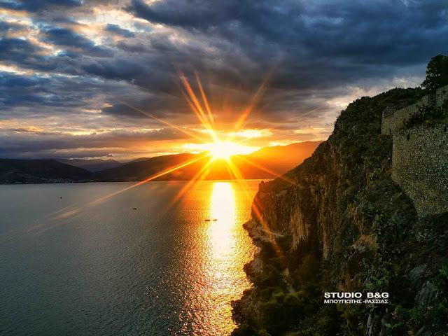 Ναύπλιο: Εκεί που το ηλιοβασίλεμα δεν είναι πότε το ίδιο