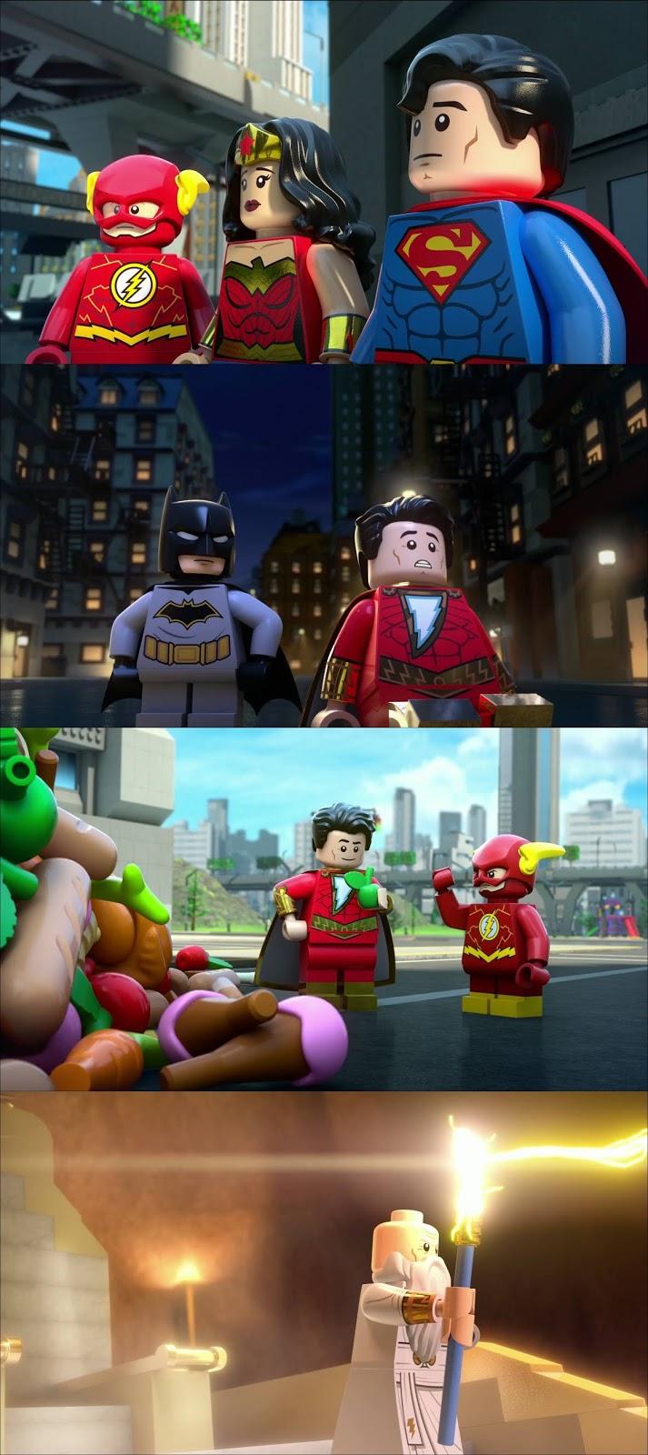 LEGO DC Shazam Magia y Monstruos (2020) HD 720p Latino