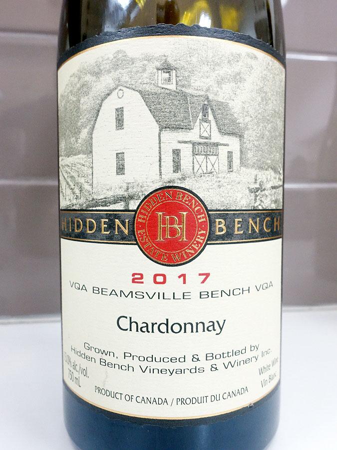 Hidden Bench Estate Chardonnay 2017 (91 pts)