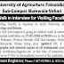 University of Agriculture Faisalabad Sub Campus Burewala-Vehari Jobs