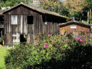 Casa Colonial no Museu ao Ar Livre (MALO), em Orleans, Santa Catarina